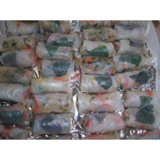 Vegetarian Rice Paper Roll-100